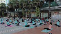 Yoga dan Taekwondo, di Mal Ratu Indah Aja