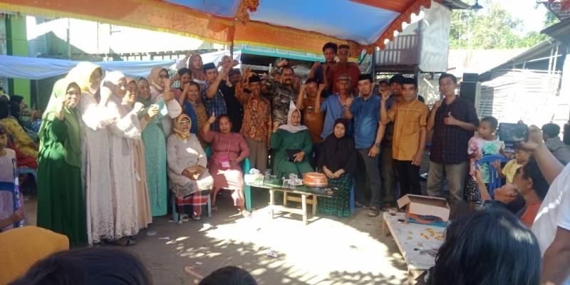 Warga Desa Ujung Lau, Siap Dukung Haluddin For Takalar 2024