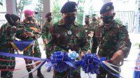 Maksimalkan Layanan TNI AL di Tengah Pandemi Covid-19, Danlantamal VI Resmikan Balai Kesehatan Jala Medika Lantamal VI
