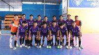 Lanjutkan Tren Positif, Tim Futsal Praporprov Lutim Kalahkan Tim Kabupaten Pinrang