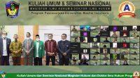 Prodi Magister dan Doktor Ilmu Hukum PPS UMI Seminar Nasional, Bahas Fenomena Hukum Mutakhir