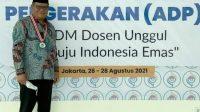 Prof Husain Syam Rektor UNM, Jabat Wakil Ketua Asosiasi Dosen Pergerakan