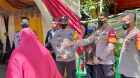 Cegah Kenaikan PPKM Level 2, Kapolres Enrekang Pantau Langsung Protkes Pesta Pernikahan