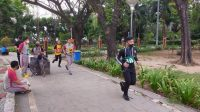 AKBP Kadarislam Ikut TKJ di Taman Macan