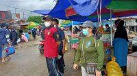 Kasi Trantib Nuha Lakukan Patroli Penerapan PPKM Level 4
