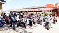 Lagi, Rombongan Alumni Smansa Smart 82 Touring Motor dan Wisata ke Pantai Seruni Kabupaten Barru