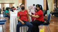 Sinergi Semen Tonasa - TNI Percepat Serbuan Vaksinasi