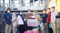 Semen Tonasa Salurkan Bantuan Korban Kebakaran Kampung Laikang
