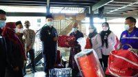 Bupati MYL Kunjungi dan Beri Bantuan Korban Kebakaran di Ma'rang