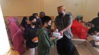 Ratusan Anak Yatim dan Kaum Dhuafa di Wajo dapat Santunan dari Masjid At-Taubah