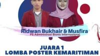 Kader HMI MPO Pangkep Raih Juara Pertama Lomba Poster Kemaritiman