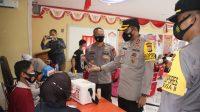 Dukung Program Pemerintah, Brimob Bone Kembali Vaksin Ibu Bhayangkari