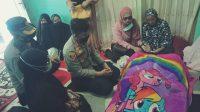 Wujud Bela Sungkawa, AKBP Kadarislam Melayat ke Rumah Duka Anggotanya