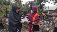 Baznas Salurkan Bantuan untuk Korban Kebakaran di Panyula