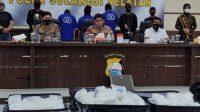 Tersangka Narkotika Ditangkap Polda Sulsel, Sudah 13 Kali Bawa Sabu di Makassar