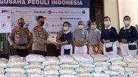Yayasan Buddha Tzu Chi Indonesia Serahkan 100 Ton Beras ke Polda