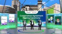 XL Axiata-PT Suryacipta Swadaya Sediakan Jaringan Fiber Optik di Kawasan Industri Suryacipta Swadaya