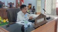 Terkait Jampersal, Komisi III DPRD Majene Hearing Kadis Kesehatan dan Kadis Sosial