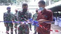 Danlantamal VI Resmikan Gudang Amunisi Mako Lantamal VI