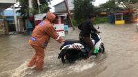 Jalur Trans Sulawesi Kembali Banjir, Belasan Kendaraan Mati Mesin