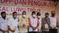 Andi Baharuddin Pimpin ORARI Lokal Luwu Timur