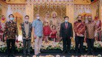 Sejumlah Tokoh Hadiri Pernikahan Nurul Ichsan dan Fyalisia
