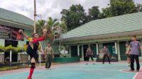Jaga Imun, Personil Kapolres dan Dandim 1426/Takalar Rajin Olahraga di Tengah Pandemi Covid-19