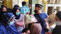 Ratusan Anak Yatim dan Dhuafa di Wajo Kembali dapat Santunan Bulanan dari Masjid At-Taubah
