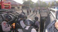 Jelang Pengamanan PON XX Papua, Brimob Bone Permantap Latihan