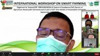 Unhas Gelar Workshop Internasional Tentang Pertanian Cerdas