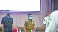 Pengukuhan dan Penyerahan Kendaraan Operasional Kolektor PBB di Palopo