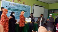 Nadiah Zainuddin Amali Hadiri Vaksinasi untuk Negeri di Pesantren An-Nahdlah, Serahkan Bantuan di Pesantren Ulul Albab Makassar