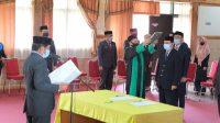 21 Pejabat Struktural Dilantik, Kaswadi Menaruh Harapan Besar