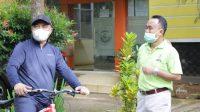 Keliling Bersepeda, Bupati Lutim Dapati Masih Ada OPD Belum Jalankan Program Rabu Sehat
