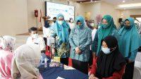 Gebyar Vaksinasi TP PKK Kec Panakkukang, Target 300 Vaksin