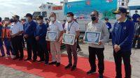 Kalla Lines Raih Penghargaan Safety, Security, Clean Ocean & Services dari Kesyahbandaran Utama Makassar