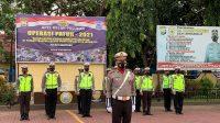 Polres Bantaeng Apel Gelar Pasukan Ops Patuh 2021