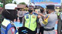 Apel Gelar Pasukan Polres Sidrap, Tanda Dimulainya Operasi Patuh 2021