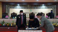 Bupati Bulukumba dan Ketua DPRD Teken Nota Kesepakatan KUA-PPAS ABPD-P TA.2021
