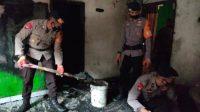 Bentuk Aksi Kemanusiaan, Brimob Bone Bantu Korban Kebakaran