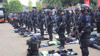 Jelang Pengamanan PON XX di Papua, Danyon Brimob Bone Cek Kesiapan Pasukan