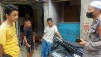 Wujudkan Kamtibmas yang Kondusif, Satbinmas Polres Pelabuhan Makassar Sambangi Masyarakat