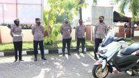 Kendaraan Dinas Kado HUT ke-66 Satlantas Polres Pelabuhan Makassar