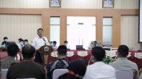 Bupati Bantaeng Bersama Forkopimda Hadiri Penyerahan Sertifikat Redistribusi Tanah Objek Reforma Agraria Secara Virtual