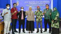 Aliyah Gandeng KAHMI dan HMI, Gelar Giat Vaksinasi di Universitas DIPA Makassar