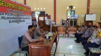 Tim Audit Kinerja Itwasda Polda Sulbar Berkunjung ke Polres Majene