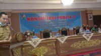 DLHK Majene Gelar Konsultasi Publik II