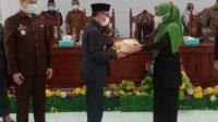 Bupati Majene Serahkan Ranperda Perubahan APBD 2021 kepada DPRD