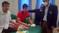 DPD Nasdem Kunjungi dan Beri Support Terhadap Anak yang Mengalami Gejala Usai Divaksin