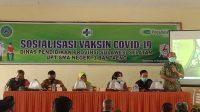 Polsek Pa'jukukang - SMAN 3 Bersama Puskesmas Kassi Kassi Sosialisasi Vaksin ke Orang Tua/ Wali Siswa